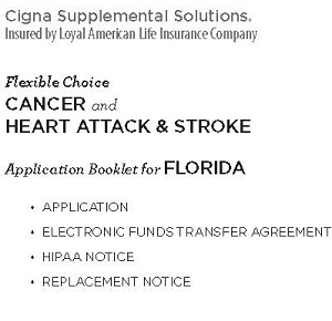 Application Booklet (sample) for Florida residents
