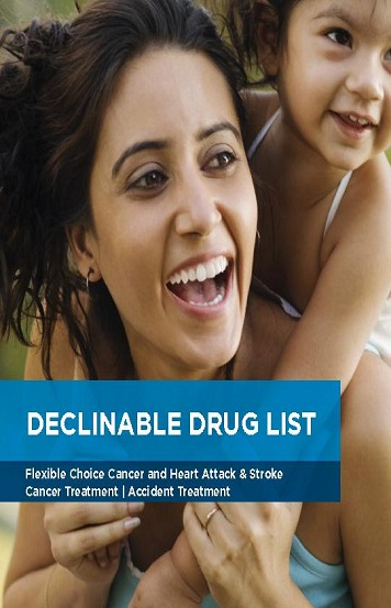 heart Insurance Declinable Drugs